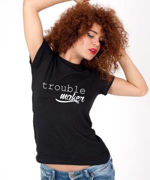 Tricou-dama-Trouble-maker