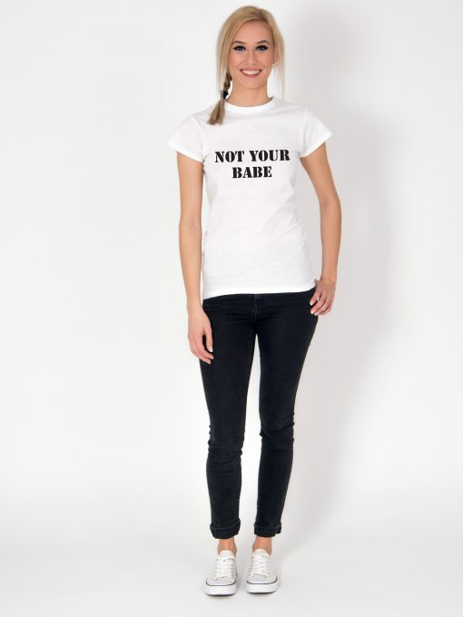 Tricou-dama-NOT-YOUR-BABE-(2)