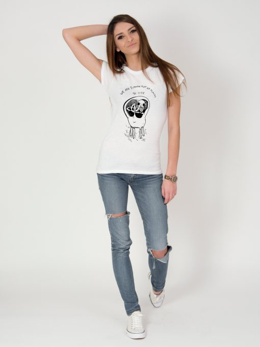 Tricou-dama-There's-a-monster-in-my-head-(2)