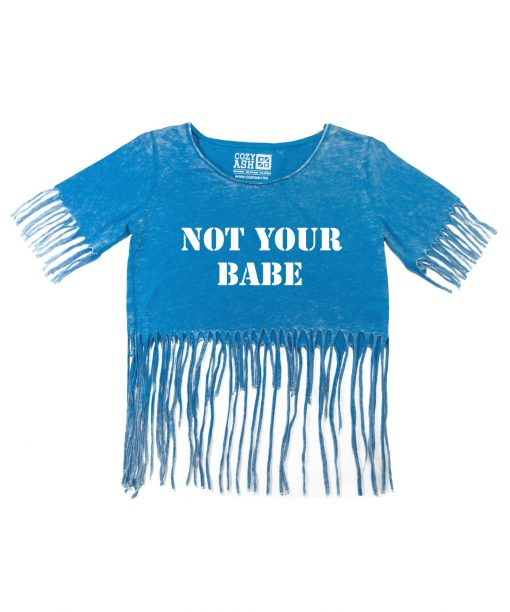 Tricou-dama-scurt-NOT-YOUR-BABE-(4)