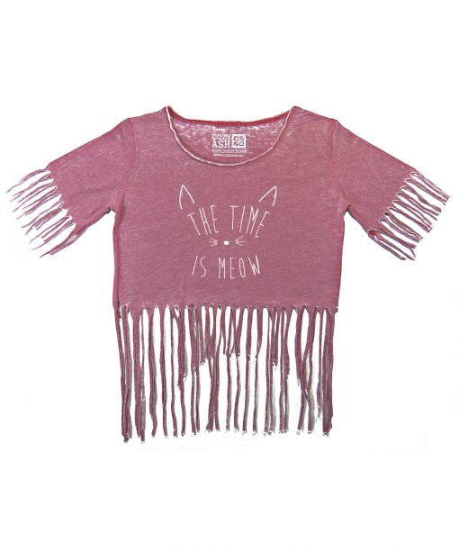 Tricou-dama-scurt-THE-TIME-IS-MEOW-(6)
