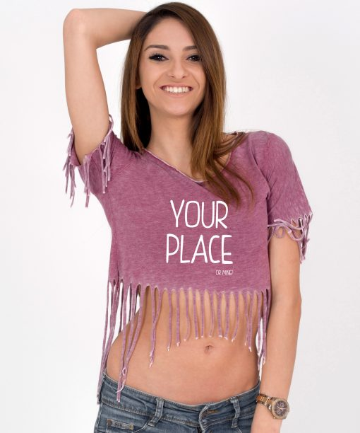 Tricou-dama-scurt-YOUR-PLACE-OR-MINE-(3)