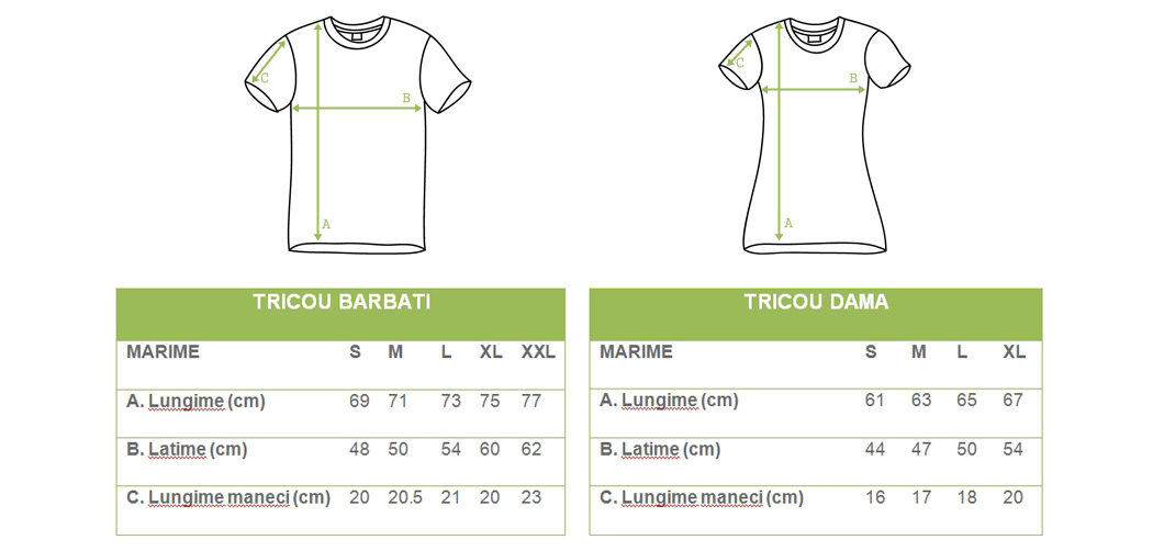 tabel-marimi-tricouri-dama-barbat