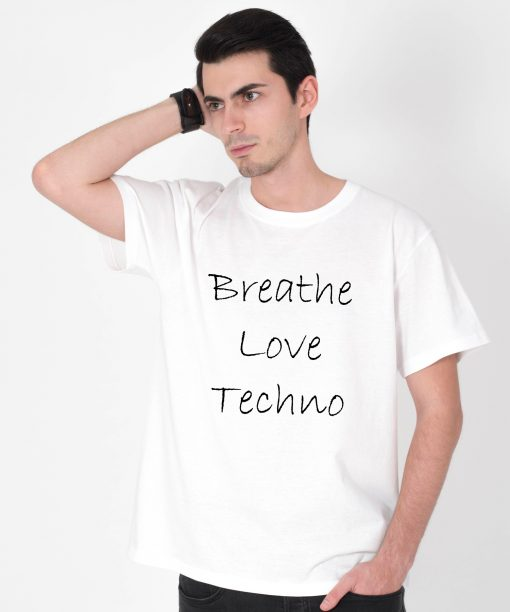 Tricou-barbati-Breathe-Love-Techno-1b