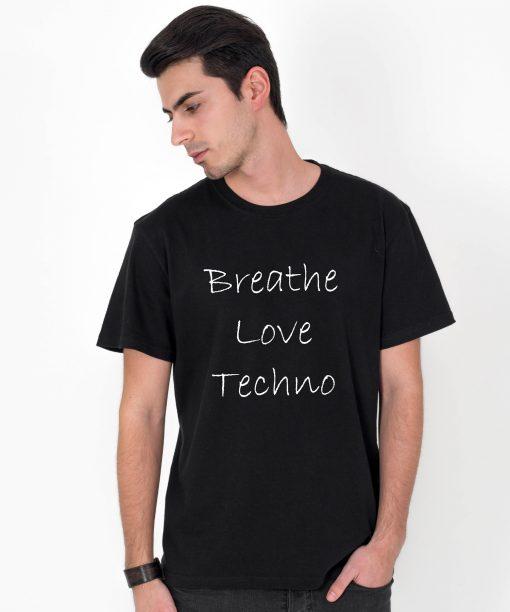 Tricou-barbati-Breathe-Love-Techno-2b