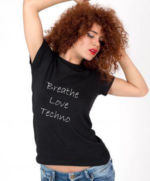 Tricou-dama-Breathe-Love-Techno-2b
