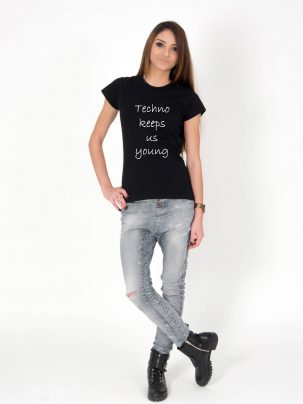 Tricou-dama-Techno-Keeps-Us-Young-3b