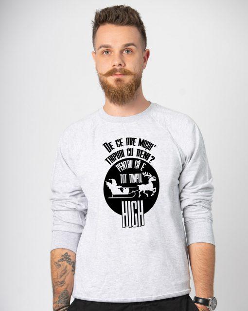 Bluza barbati Tripuri cu reni (1)
