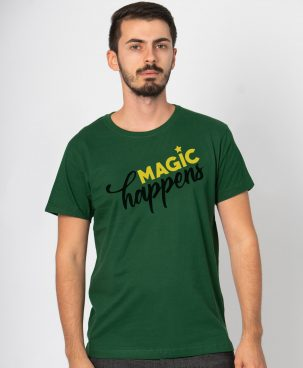Tricou barbati Magic happens (1)