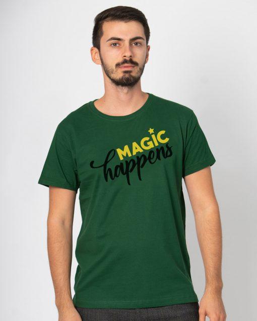 Tricou barbati Magic happens (1)