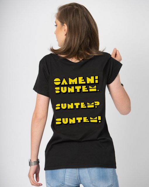 Tricou dama Oameni suntem (2)